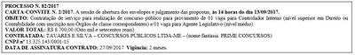 Carta-convite nº 2 2017