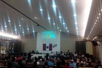 A Câmara Municipal de Pariquera-Açu realiza Sessão Solene em comemoração aos 65 anos de emancipação Político-Administrativa do Município.